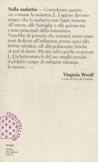 Virginia Woolf, Sulla malattia