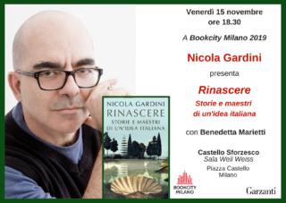 Rinascere. Storie e maestri di un'idea italiana (Garzanti) a Bookcity